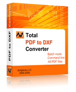 Click to view Fast PDF to DXF Converter 1.1 screenshot
